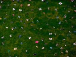 Fotografía de Vista aerea de Bryant Park, New York City