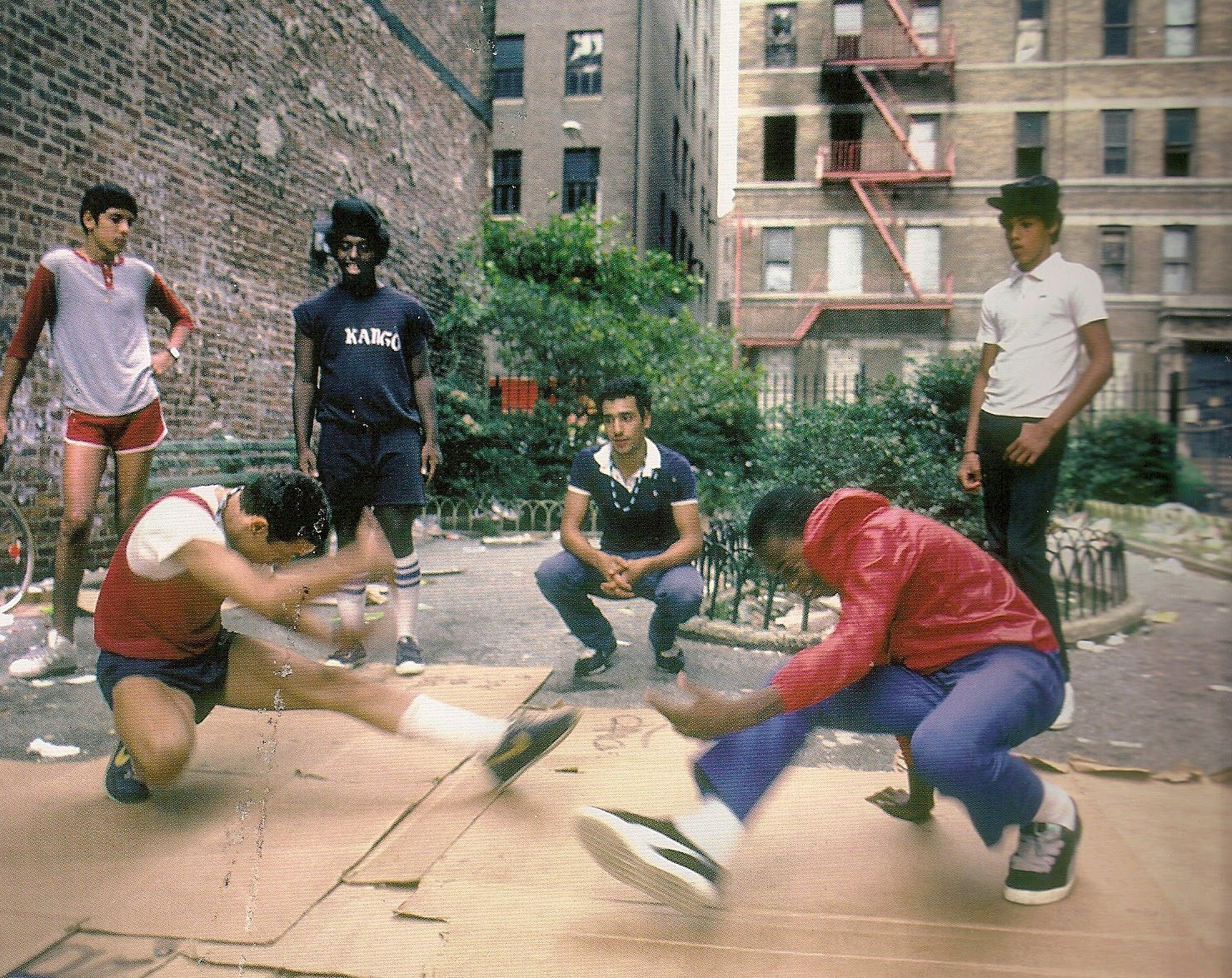 Break dance en el bronx