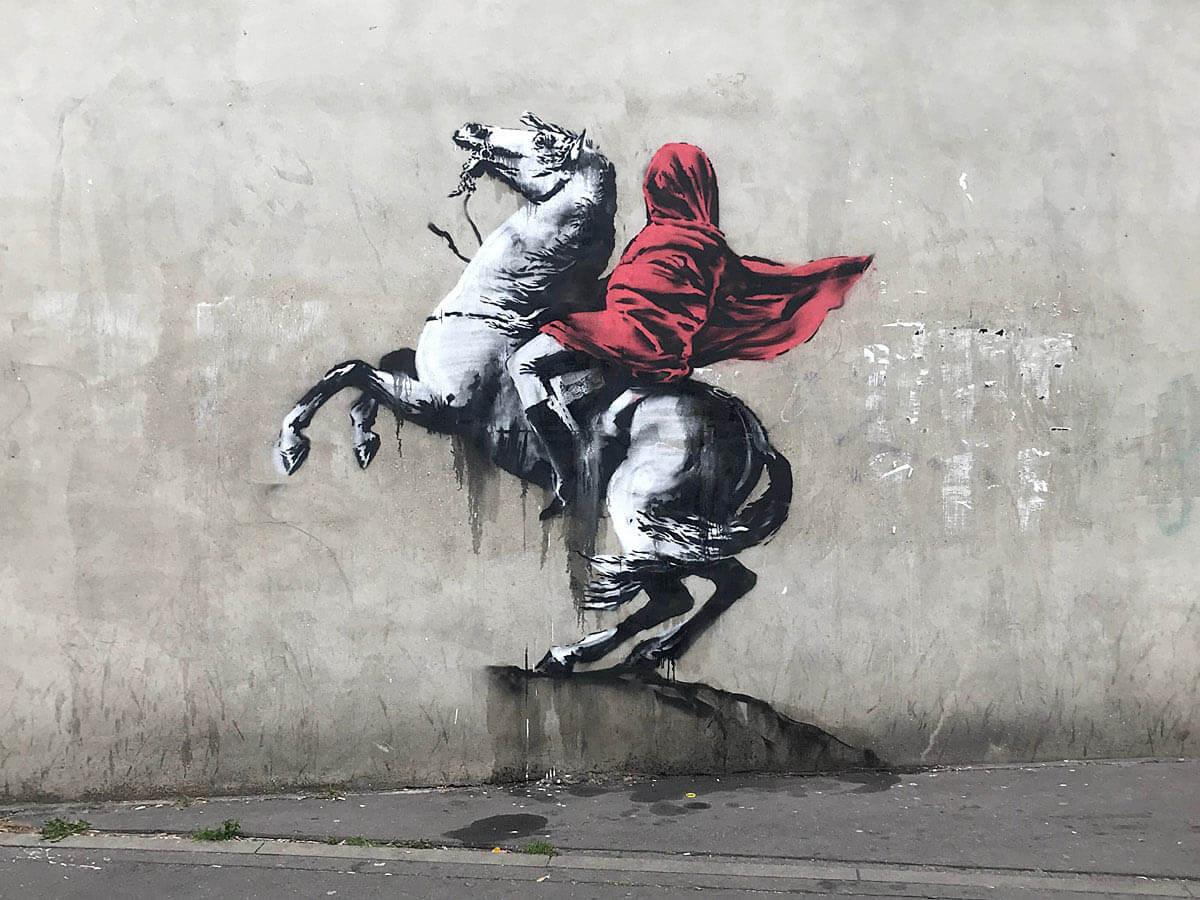 banksy en paris revolución francesa