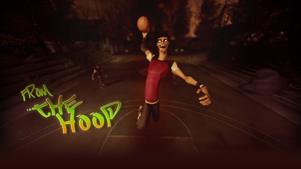 Fotograma de Corto de animacion from the hoop