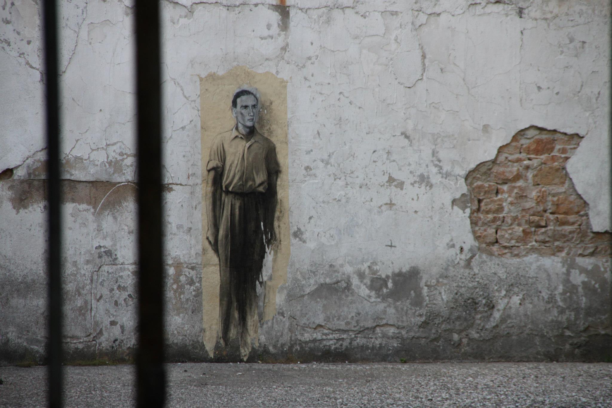 Ernest PIGNON-street-art-oldskull-1