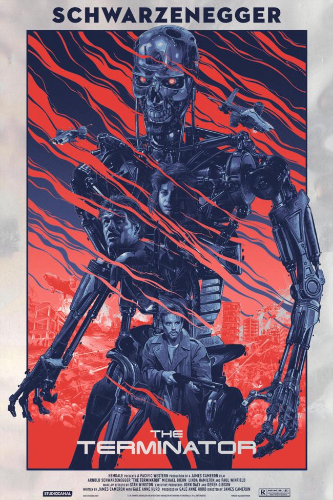 Poster de la película terminator