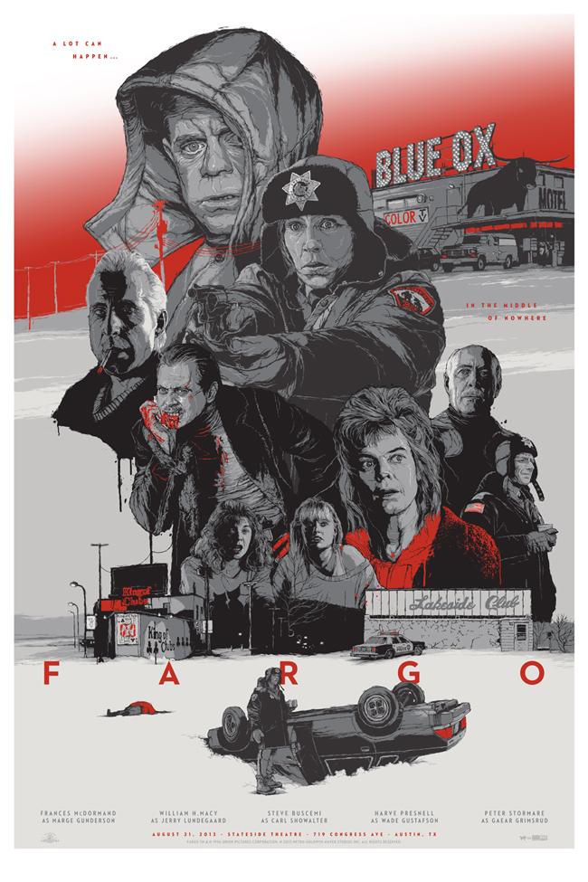 Poster de la pelicula Fargo de los hermanos coen
