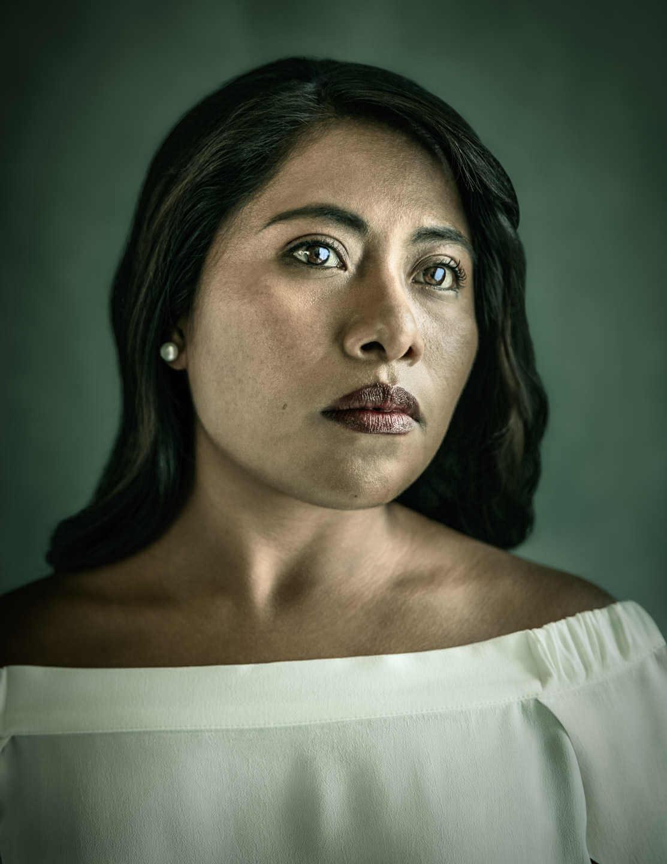 Fotografía de Yalitza Aparicio