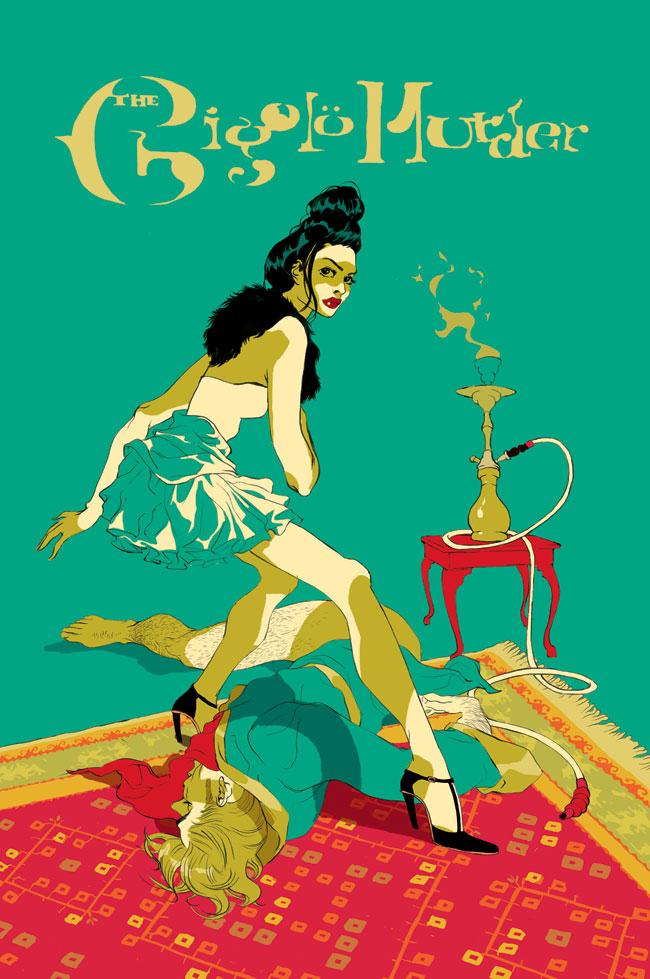Tomer Hanuk illustration oldskull6