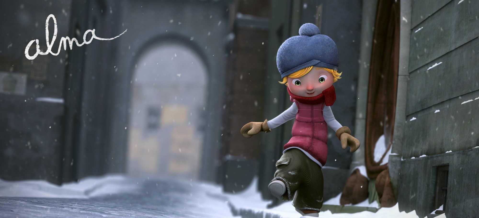Fotograma de Alma cortometraje de animación