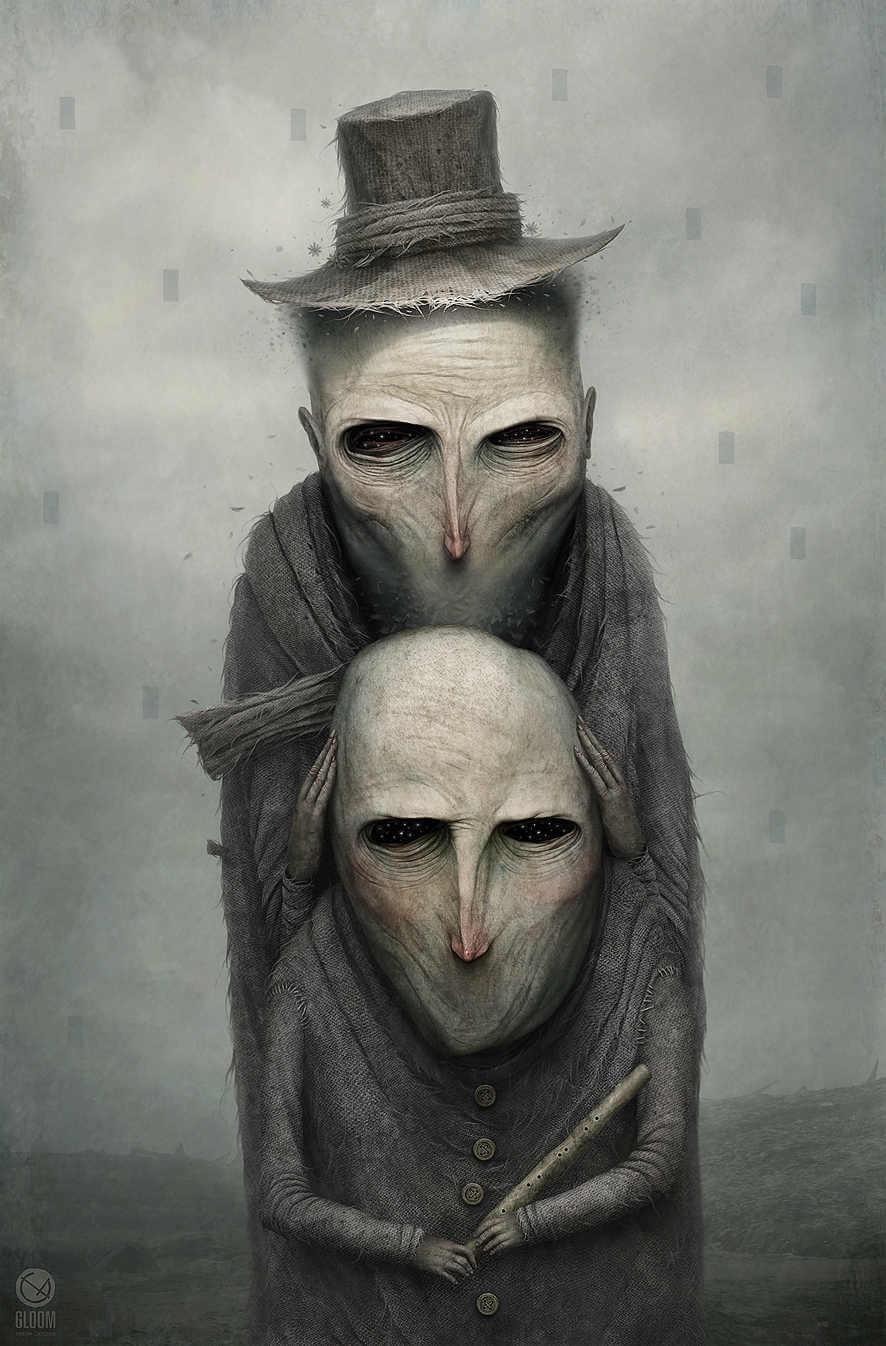 Criaturas extrañas y tenebrosas