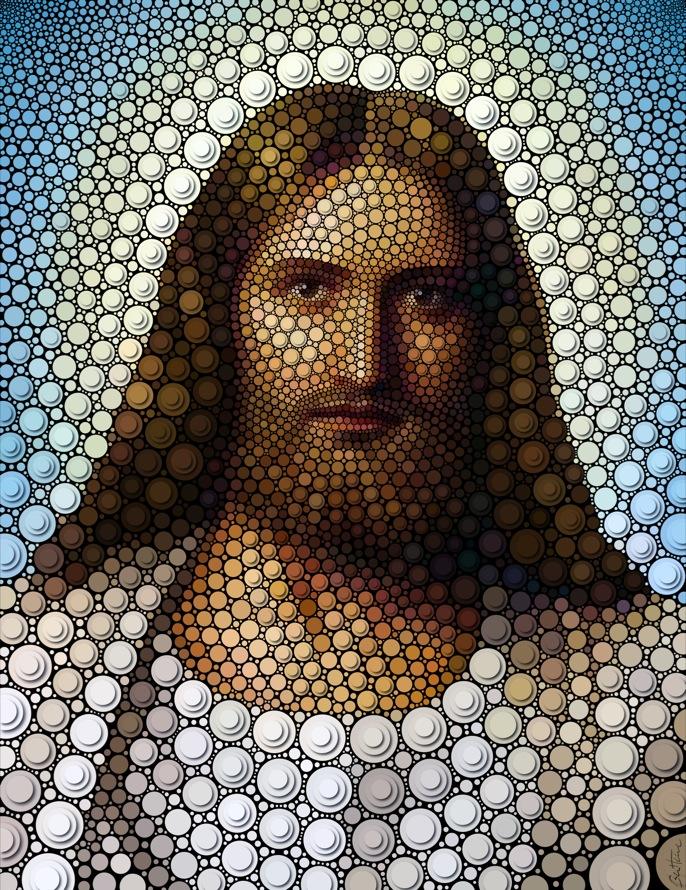 Ilustracion de jesucristo