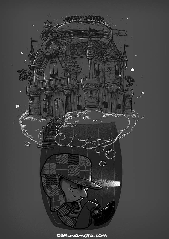 bruno mota ilustracion oldskull 10