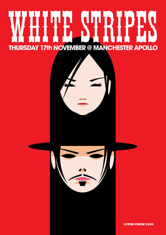 Diseño para The White Stripes nominado a un premio Grammy