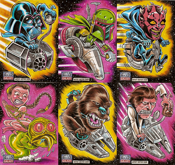 Caricaturas de star wars