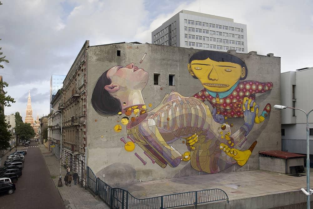 aryz y os gemeos arte urbano