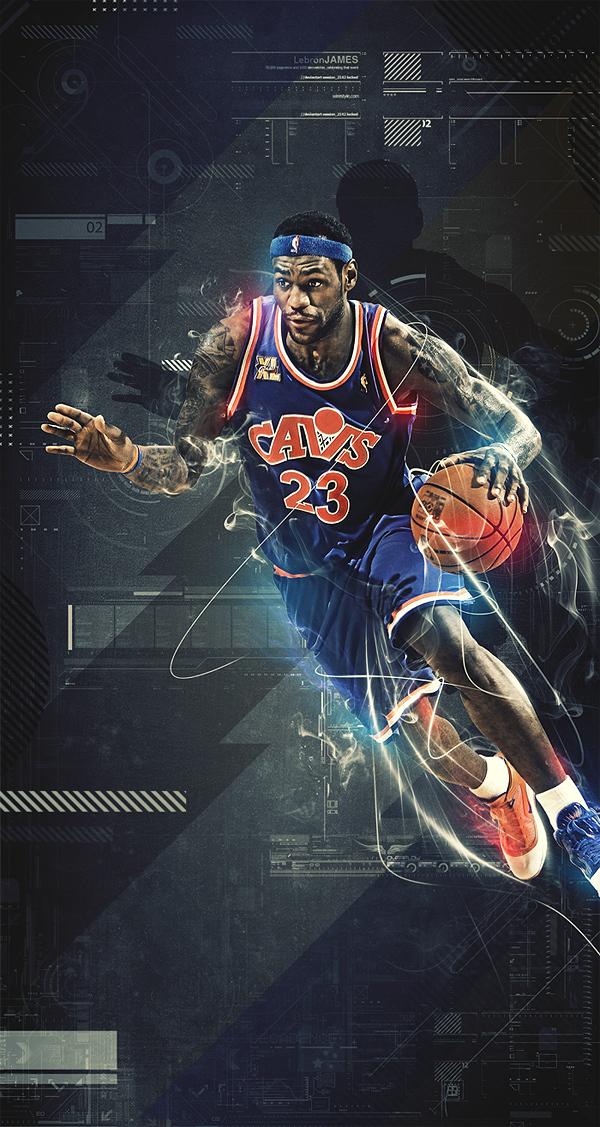 Diseño gráfico baloncesto
