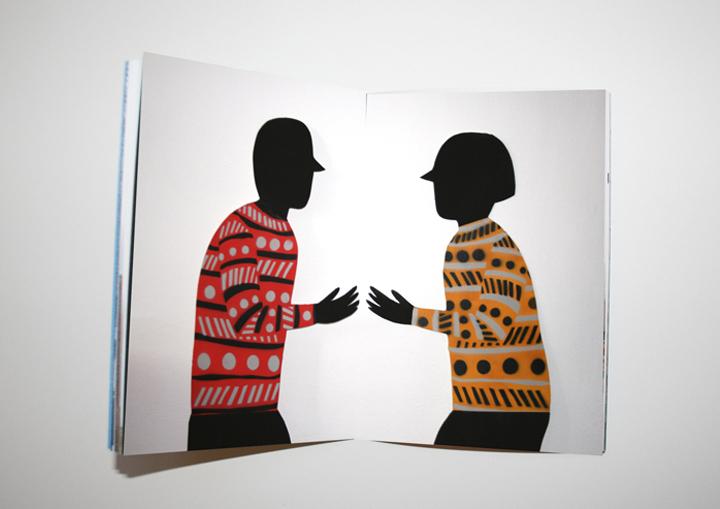 interior de libro diseñado por cachete jack