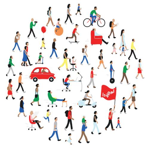 ilustracion sobre movilidad