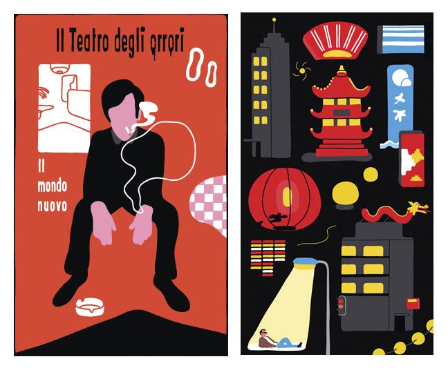 ilustracion de tematica china
