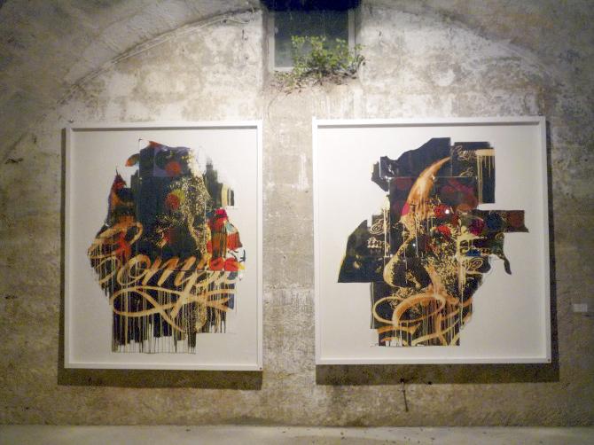 cuadros en serigrafia de Alexandre Farto aka Vhils