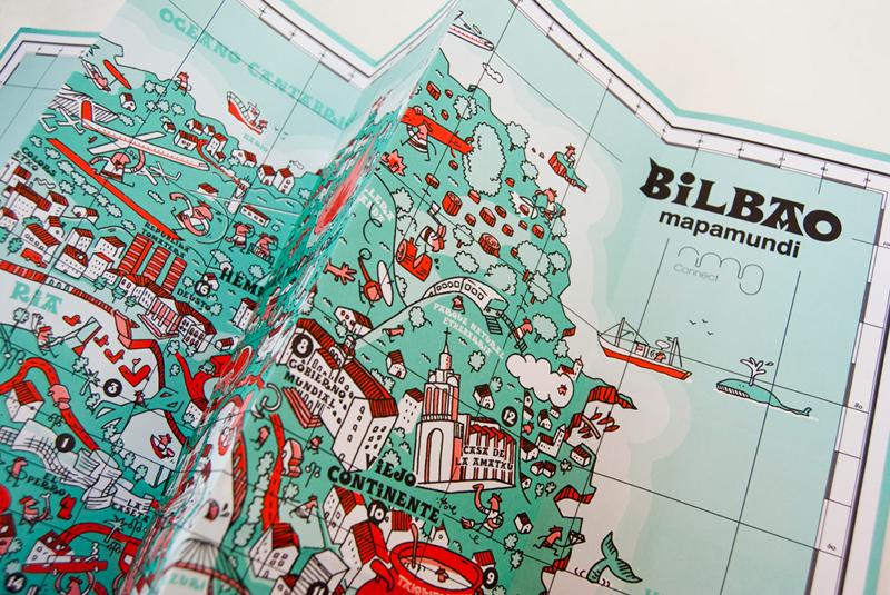 mapa mundi de bilbao de iván bravo