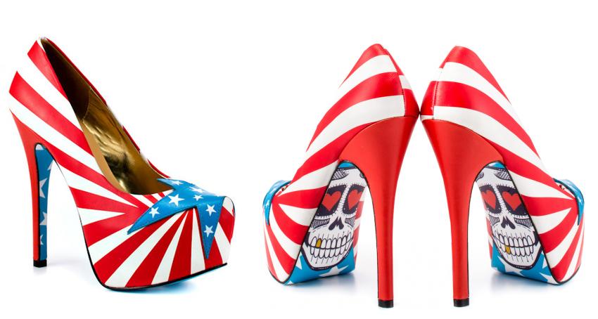 modelo calaveras zapatos taylor says