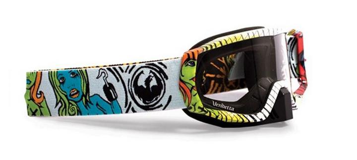 Gafas de nieve dragon diseñadas por taylor says