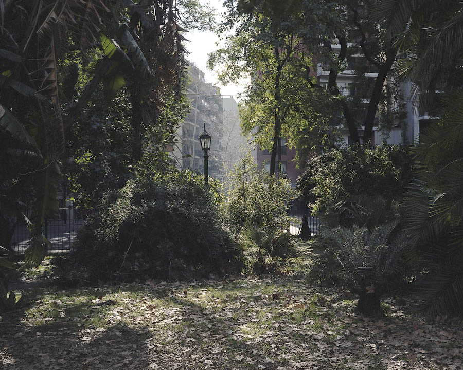 Fotografia de parque abandonado de Thomas locke