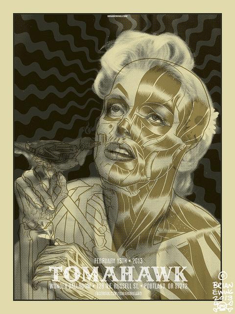 Marilyn monroe zombie