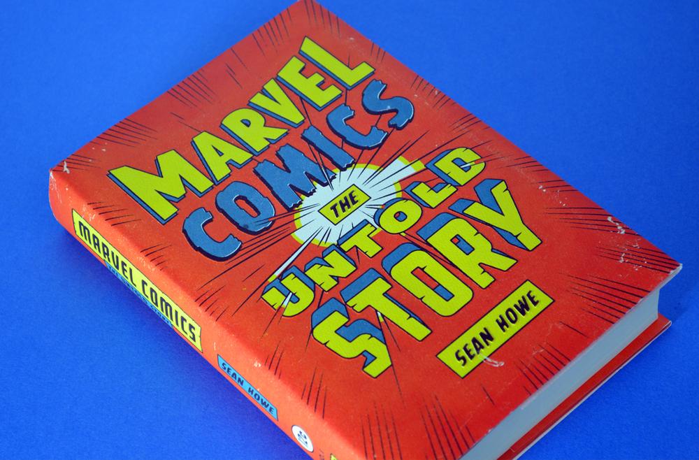 Marvel comics untold story libro
