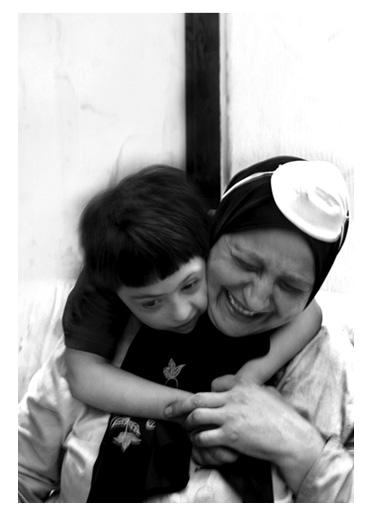madre e hijo fotografiados por ferran quevedo