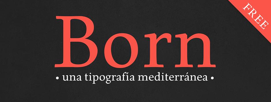 born-tipografia-oldskull