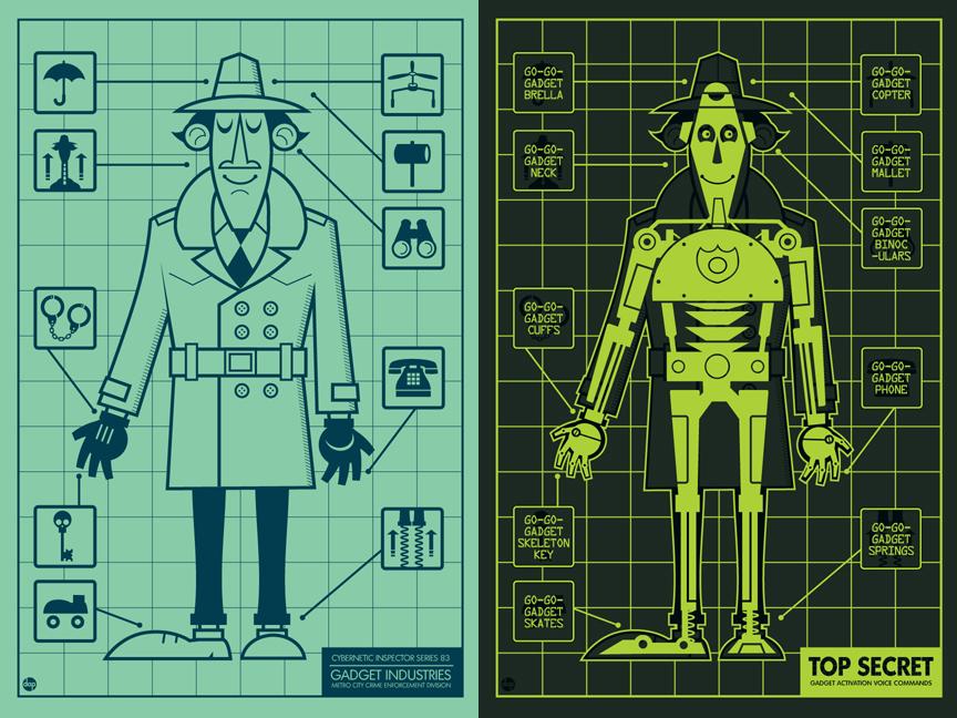 Poster del Inspector Gadget