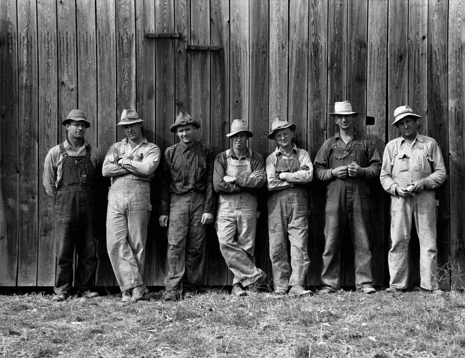 Campesinos de los años 50 americanos by Dorothea Lange