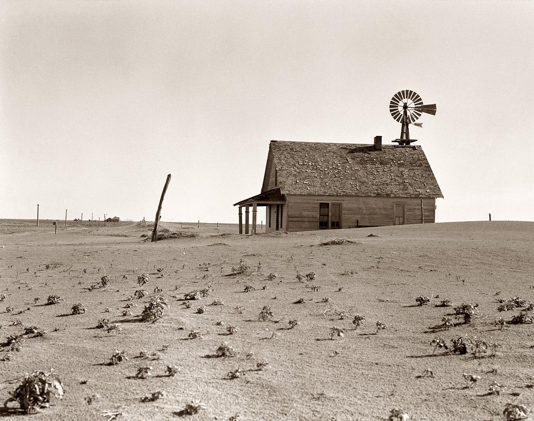 Granja norteamericana de los años 20