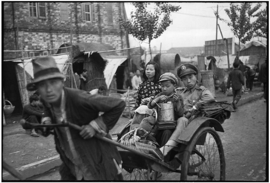 HENRI CARTIER-BRESSON fotografiando la china de los años 60