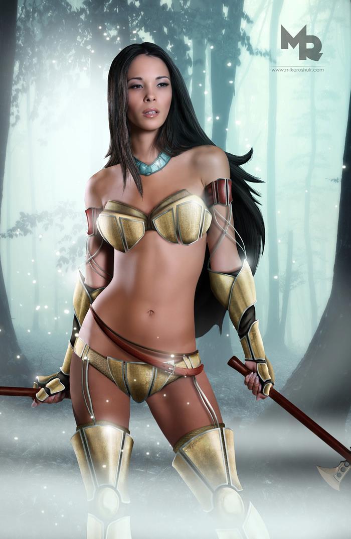 Pocahontas personaje real