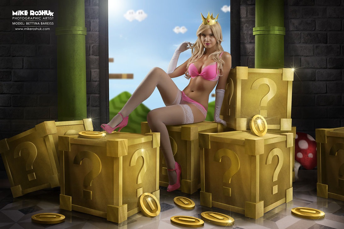 princess_peach by mike roshuk