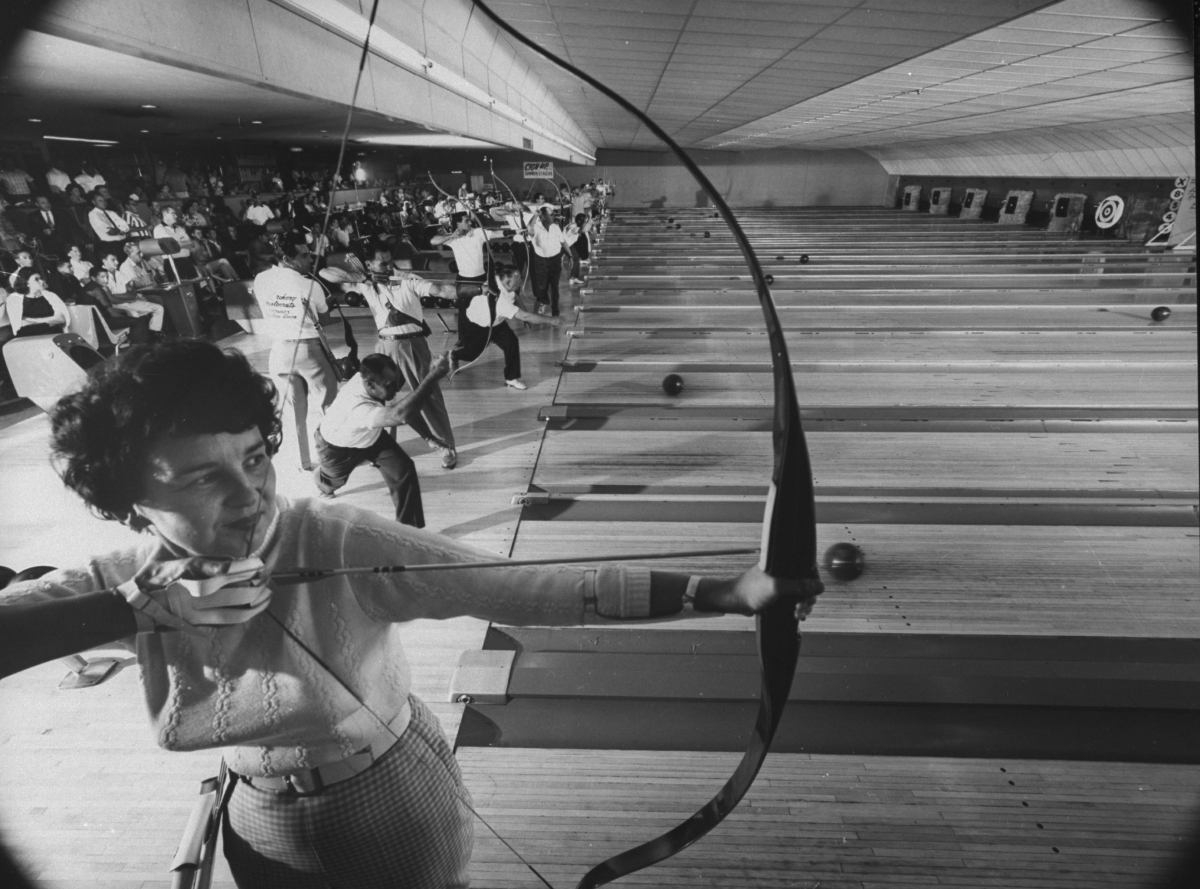 Fresno's Sunnyside Bowl-Bowling Alley.