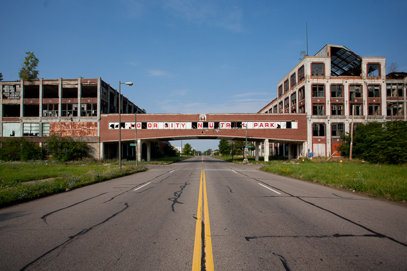 After it closed in 1956, the plant was turned into an industrial park.
