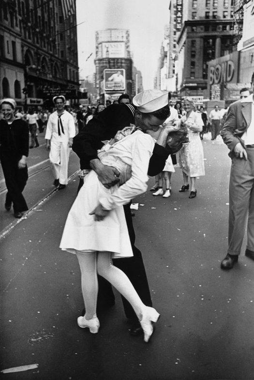Fotografía del beso en times square
