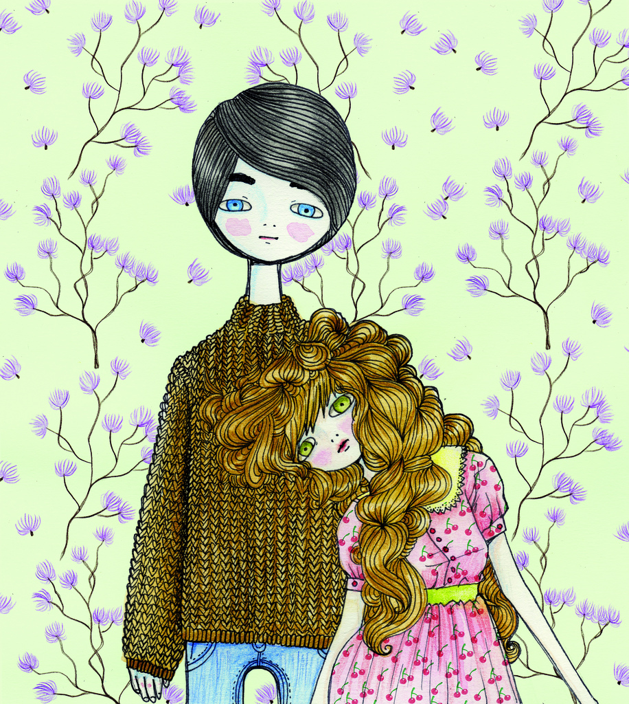 Ani castillo illustration oldskull 8