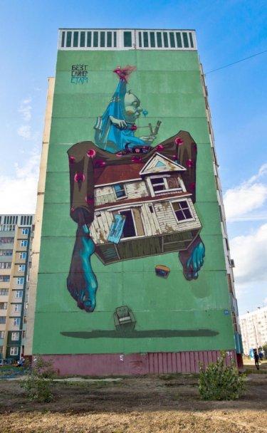 mural de casa etam cru