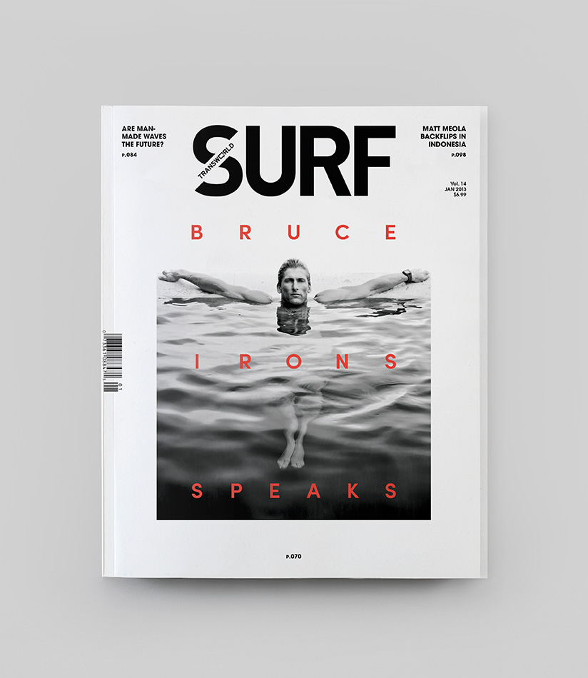 portada de la revista surf