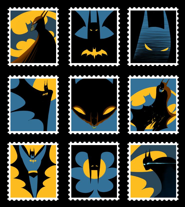 Batman illustrations oldskull 10