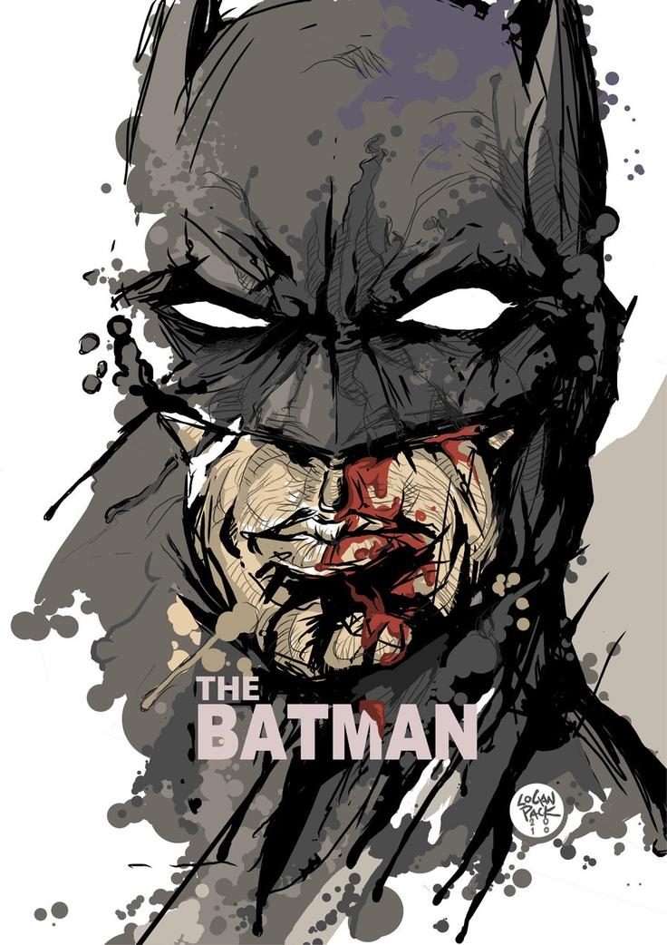 Batman illustrations oldskull 12