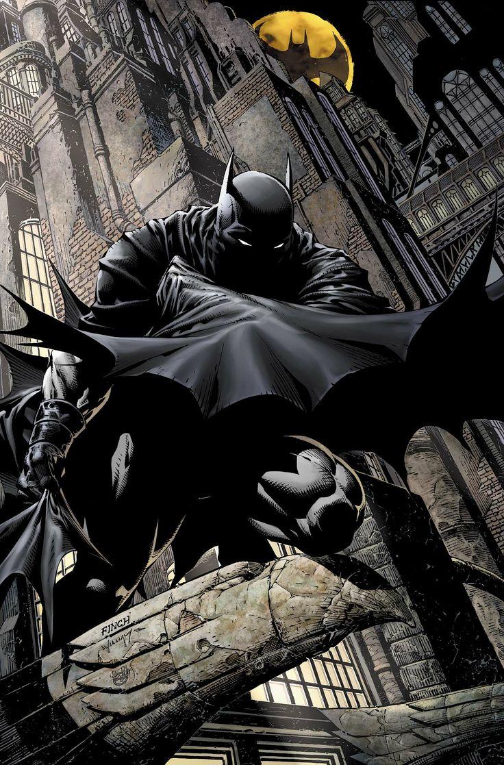 Batman illustrations oldskull 2