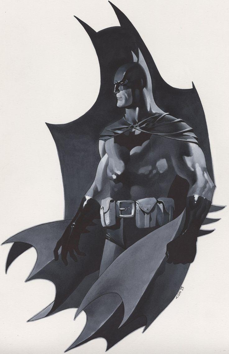 Batman illustrations oldskull 4