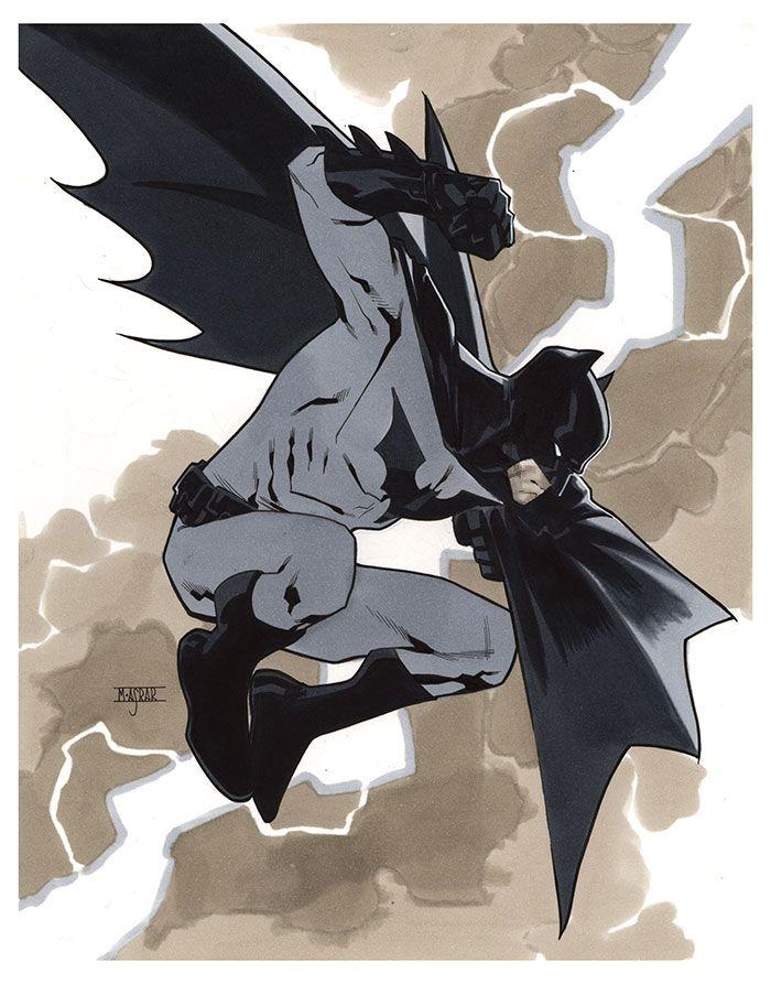 Batman illustrations oldskull 9