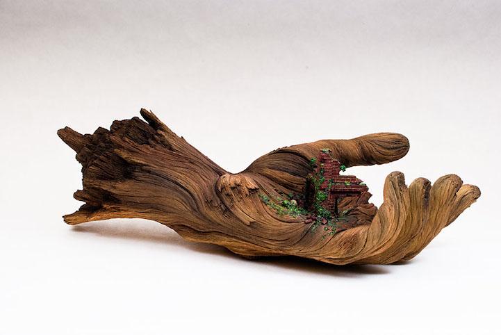 ChristopherDavidWhite-ceramic-scupltures-oldskull-2
