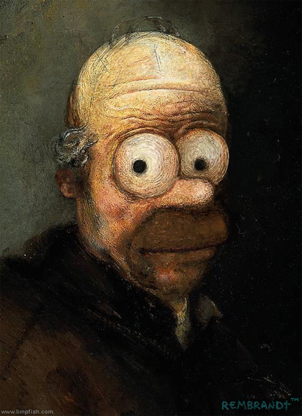 Famous-Paintings-illustrations-oldskull-2