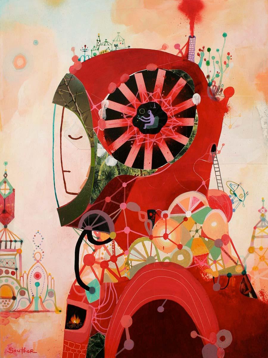 Souther Salazar illustration oldskull 4