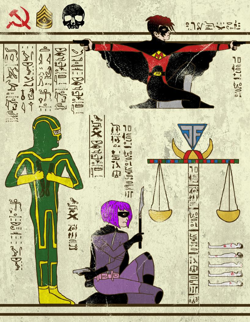 hero-glyphics-Kickass-josh-lane-illustration